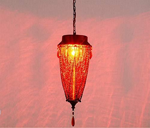 KAIASlink Romantischer Kaffee farbigen Glas Kronleuchter Diffuse Cat Coffee Bar löschte es Shuba Deck Korridor Gang Bar Lampen -
