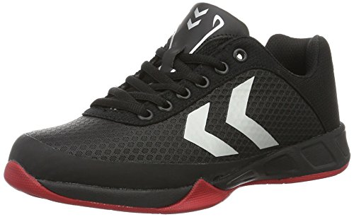 hummel Root Play, Scarpe Sportive Indoor Unisex - Adulto, Nero (Black), 46.5 EU