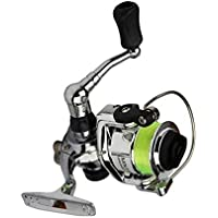 RLJJCS1163 Carrete de la Pesca del Bastidor de Cebo Carrete de Pesca Suplemento Pesca 4.3: 1