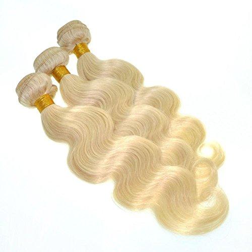 Körper-wellen-haar-verlängerung (Qualitäts-brasilianische Jungfrau-Körper-Wellen-Blondine 100% menschliche lange Haar-Webart-Verlängerungen 1 Bündel-Einschlagfaden mehrfache Wahlen 8-28inches , 28 inch)