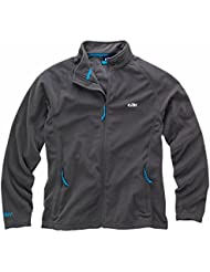 Gill Men's Grid Microfleece Jacket Steel 1342