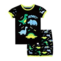 Harry Bear Boys Dinosaur Short Pyjamas
