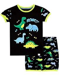 Harry Bear Pijama Corta para niños Dinosaurio
