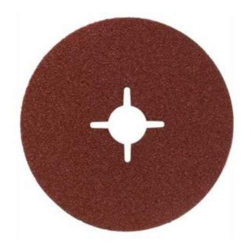 Bosch 2 608 605 469 - Disco lijador de fibra para amoladora angular, corindón 115 mm, 22 mm, 120