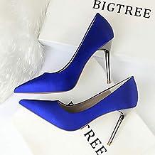Scarpe Blu Amazon Eleganti Donna Raso it 5qtvtxA
