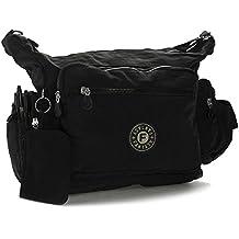 Big Handbag Shop - Bolso cruzados de tela para mujer One