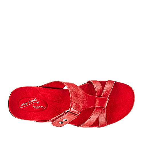 Easy Street Blaze Large Synthétique Sandale red