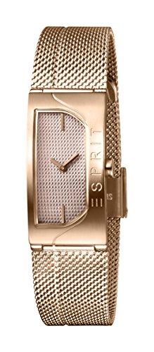 Esprit Femmes Analogique Quartz Montre avec Bracelet en Acier Inoxydable ES1L045M0045