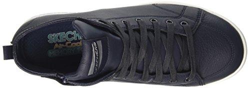 Skechers Damen Omne-Midtown Hohe Sneakers Blau (Nvy)