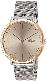 Lacoste Women'S Rose Goldtone With Sunray Dial Stainless Steel Watch - 200