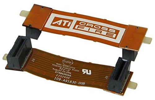 AMD ATI CrossFire Bridge Interconnect - Conector flexible para unir dos tarjetas gráficas ATI Radeon