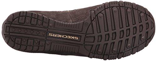Skechers Damen Bikers-Londoner Chelsea Boots Chocolate