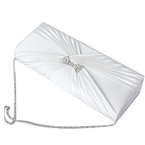 SSMK Evening Bag, Poschette giorno donna White