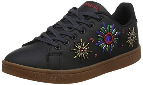 Desigual Damen Shoes Cosmic New Galactic Sneaker, Schwarz (Black 2000), 41 EU