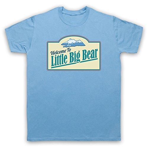 Tin Star Little Big Bear Herren T-Shirt Hellblau