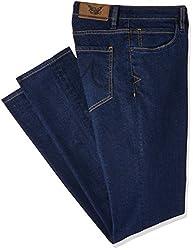 Arrow Mens Relaxed Fit Jeans (8907538544841_AJUJN2816_30W x 34L_Navy)
