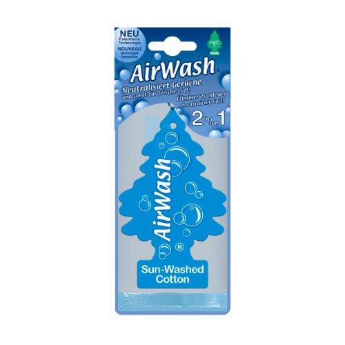 Wunder-Baum 134336/24 Lufterfrischer 24-er Box Airwash Sun-Washed-Cotton