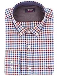 56114f17b78cb PAUL   SHARK Hombre I16P3110WHITE Blanco Algodon Camisa