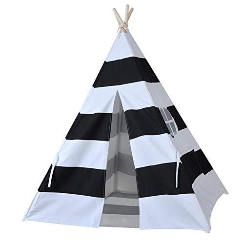 WHCCL Tipi für Kinder,Faltbare Kinder Spielen indisches Zelt,Tragbares Princess Girls Zelt für drinnen und draußen (Halloween-aktivitäten Für Kleinkinder Zu Hause)