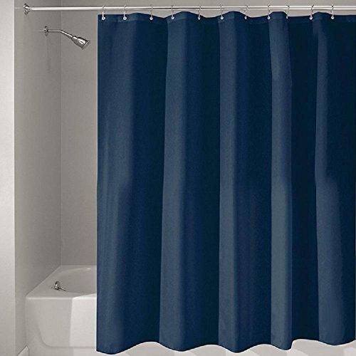 HomJo Rideaux de douche Pure rideau de douche de couleur polyester imperméable à l'eau et mildiou articles de ménage rideau de cloison de salle de bains 180 * 180cm , 180*180 , 2