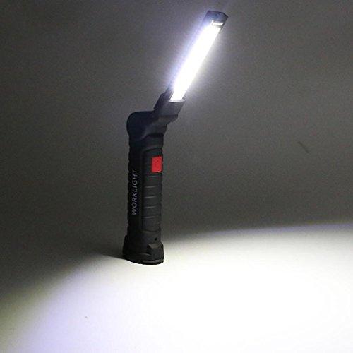 Mamum COB-LED-Arbeitslampe, magnetische Taschenlampe, wiederaufladbare, flexible Inspektionslampe, schnurlose Arbeitsleuchte Einheitsgröße B -