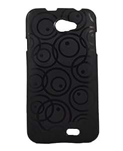 connexions accessories silicon design back cover for Iball Andi 5M XOTIC-Black