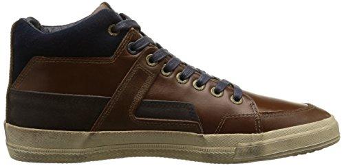 Redskins Alvado, Herren Hohe Sneakers Braun (cognac/marine)