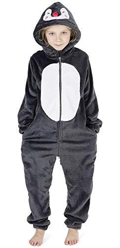 CityComfort Niños Onesies (3-4 años, pingüino)