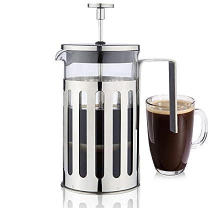 Joyeee-Kaffeebereiter-Franzsisch-Presse-Cafetiere-Edelstahl-Kaffeepresse-Maker-Kaffeekanne-French-Press-System-mit-Edelstahlfilter-Espresso-Kaffee-oder-Tee-Coffee-Maker-Teekanne