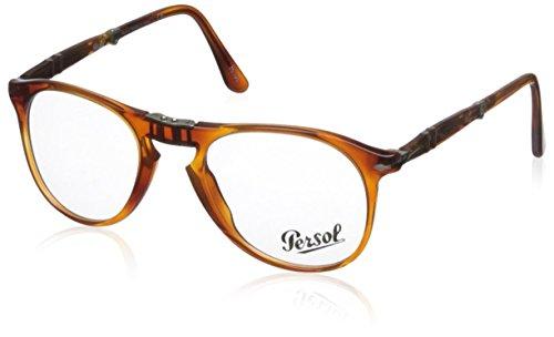 Persol Für Mann 9714vm Folding Terra Di Siena Kunststoffgestell Brillen, 50mm