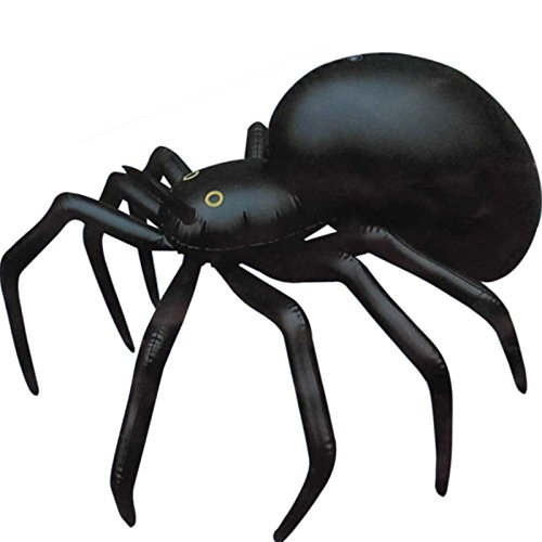 Gutschein Usa Halloween (German Trendseller® - Spinne Aufblasbar ┃ 91 cm ┃ Dekoration ┃ Horror ┃)