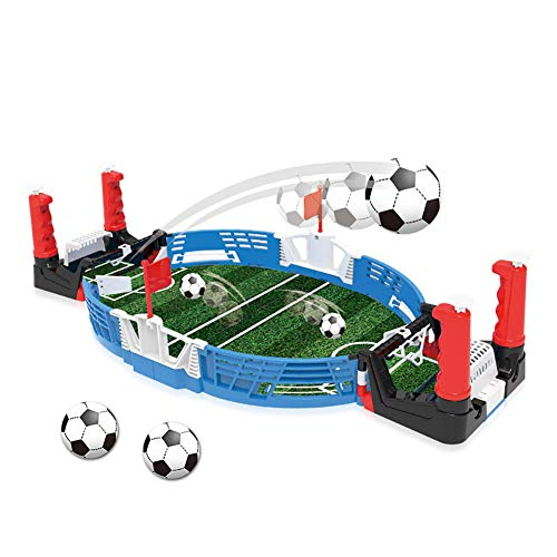 Balai Kinder Mini Desktop Football Shoot Spiel, Indoor Finger Tisch Ball Puzzle Spielzeug, Outdoor Sports Spielzeug