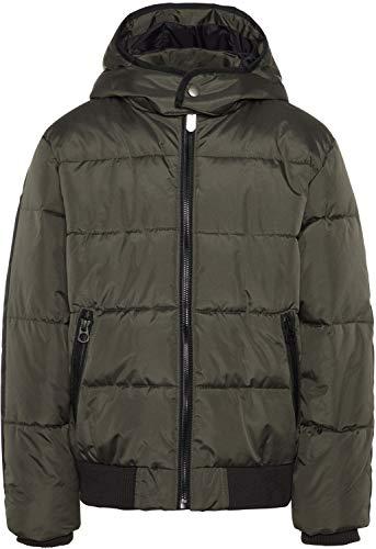 NAME IT Jungen Winterjacke NKMMASS Puffer Jacket Anorak, Größe:140, Farbe:Wren