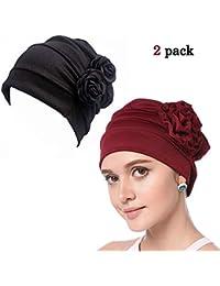WETOO Sombreros y Gorras Boinas Mujer para Oncológicos y para Quimioterapia 95888d52a9d