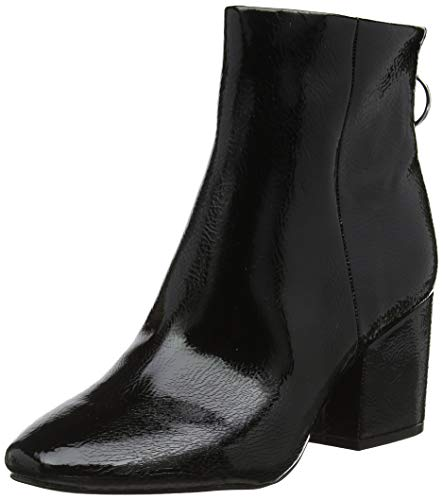 Black Patent Boots - Steve Madden Damen Break Ankle Boot