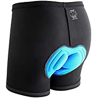 Sportneer Men's 3D Padded Bicycle Cycling Underwear Shorts,M