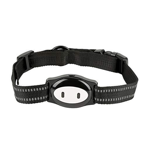 Pssopp Haustier GPS Tracker Echtzeit Halsband Tracker Locator Hund Katze GPS Tracker mit Halsband, Smart Anti-verlorene GPS Tracking Gerät für Hunde und Katzen