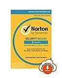 Norton Security Deluxe 3 Geräte  Rundumschutz als Download   Für mehr Sicherheit: Malware, Viren & Cyber-Kriminelle stellen zahlreiche Risiken für Internet-Nutzer, ihre Identität & ihre persönlichen Daten dar. Umso wichtiger ist es, sich a...
