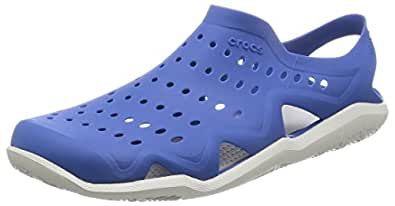 623ceedc8 Crocs Men s Blue Jean Pearl White Swiftwater Wave - (M - 4.5)  Buy ...