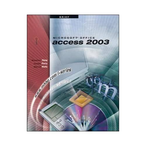 [(Microsoft Office Access 2003)] [By (author) Stephen Haag ] published on (January, 2004)