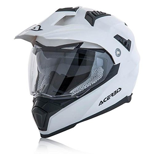 Acerbis casco flip fs-606 bianco l