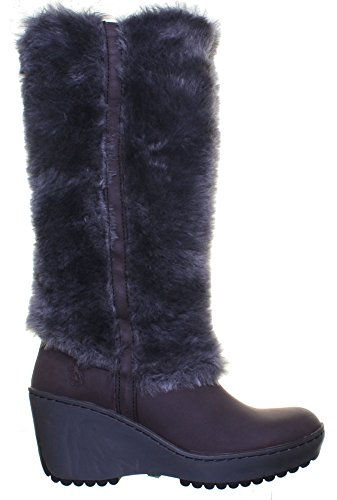 Fly London Mile en imitation cuir Bottes Brown AV