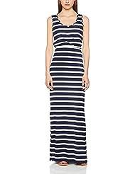 Cortefiel 3.f.m.Vestido Raya Marinera, Vestido Básico para Mujer