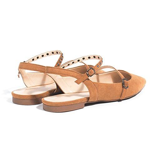 Parfois - Chaussures Strapy - Femmes Camel