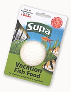 Supa vacation 2 week holiday fish food block 25g amazon for Fish and pets unlimited