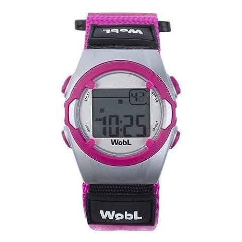 Die WobL Watch - die Erinnerungsuhr mit 8 Erinnerungsfunktionen für das Toiletten-Training für Kinder