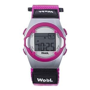 WobL Watch Orologio con 8 allarmi, Rosa