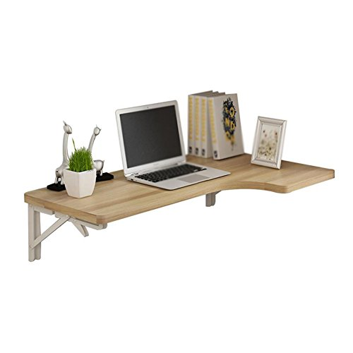 Walnuss-große Tabelle (ZCJB Starker Tragender Faltender Dinning-Tisch Für Kleine Küche, An Der Wand Befestigte Computer-Tabellen-Licht-Walnuss (größe : 120x60x40cm))