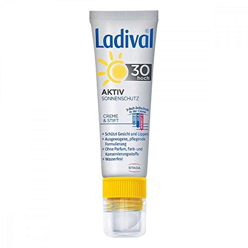 Ladival Aktiv Sonnenschutz für Gesicht und Lipp. L 1 Pck