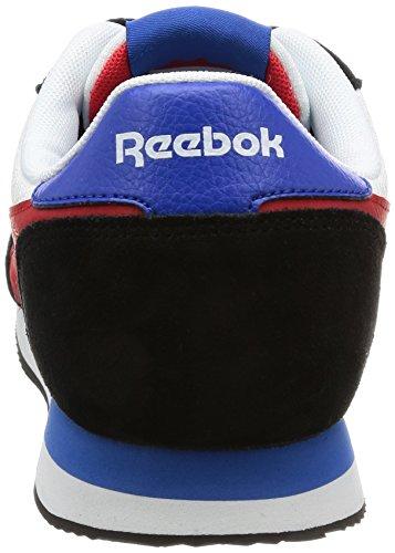 Reebok Bd3282, Scarpe da Trail Running Uomo Nero (Black/White/Primal Red/Awesome Blue)